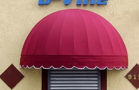 Commercial Grade Dome Awnings