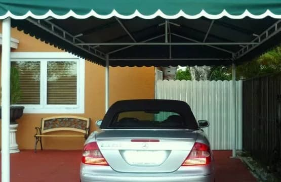 The concept of the a carport awning