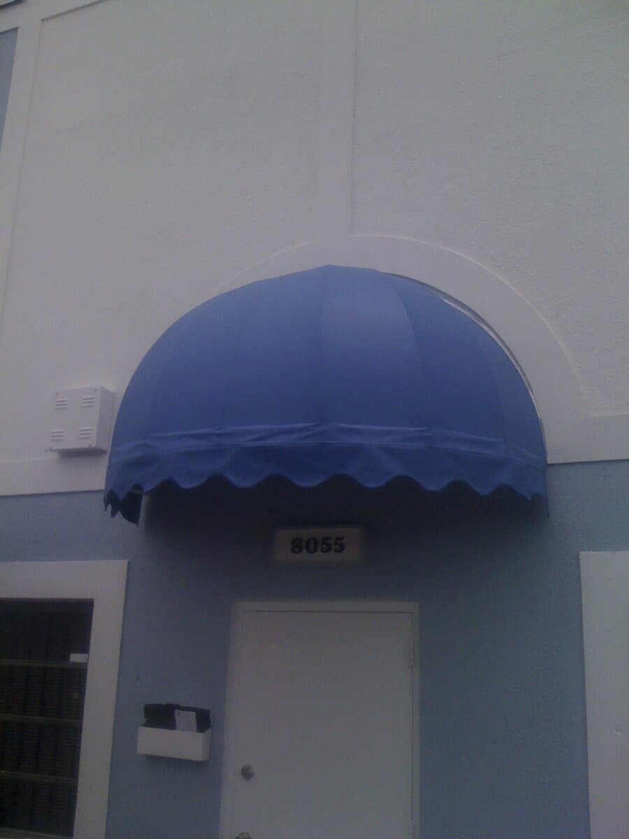Dome Awnings E Amp J Tropical Awnings Outlet Inc